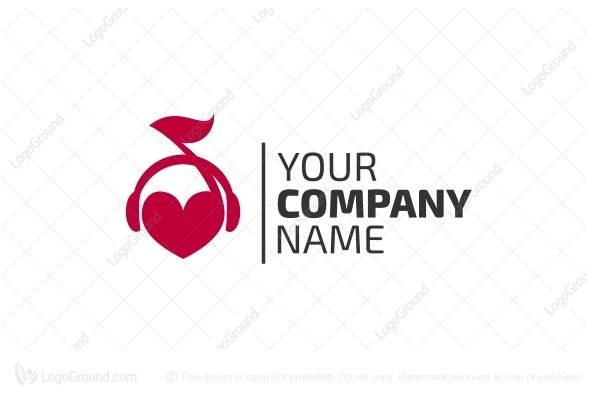 Logo for sale: Audio Love Logo
