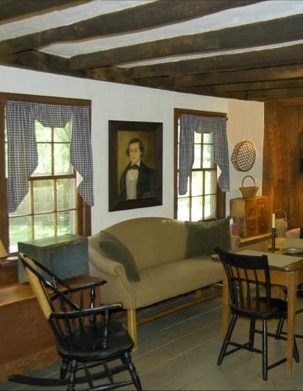 Prime Decor Primitive Curtains Colonial Decorating Windsor Chairs Dutch Country Interiors Gatherings Keeping Room