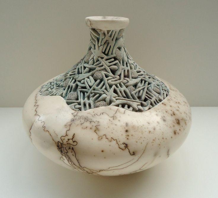 fancy design ceramic plant pots. Cool Ceramic Pot Designs with star design 412 best Ceramics  Coiled Woven Patched images on Pinterest