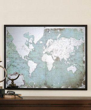 Mirrored World Map transitional-artwork