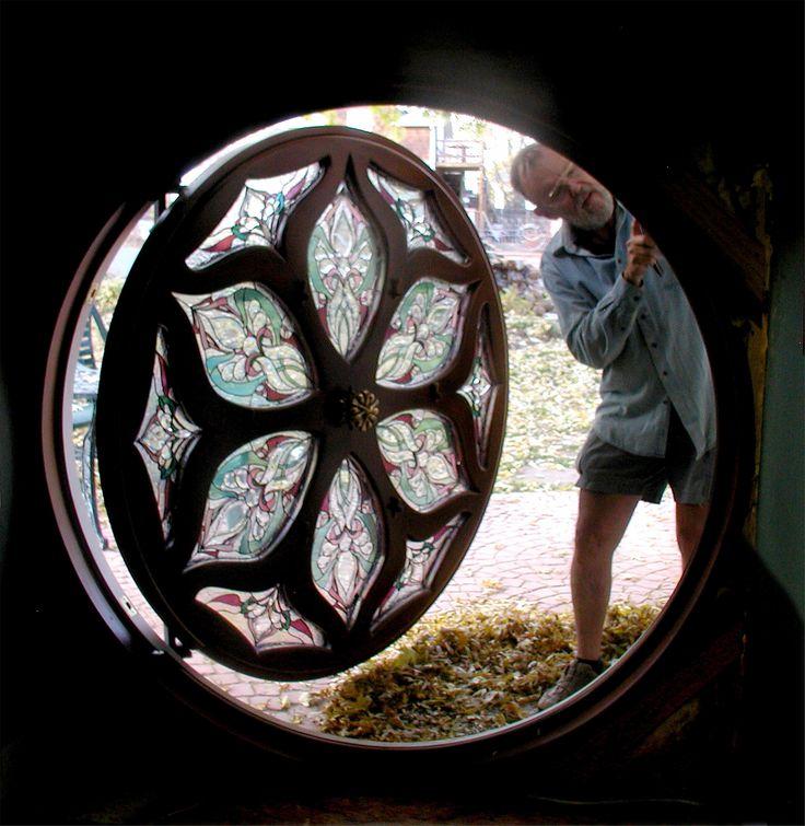 The Making of a Hobbit-House Door!