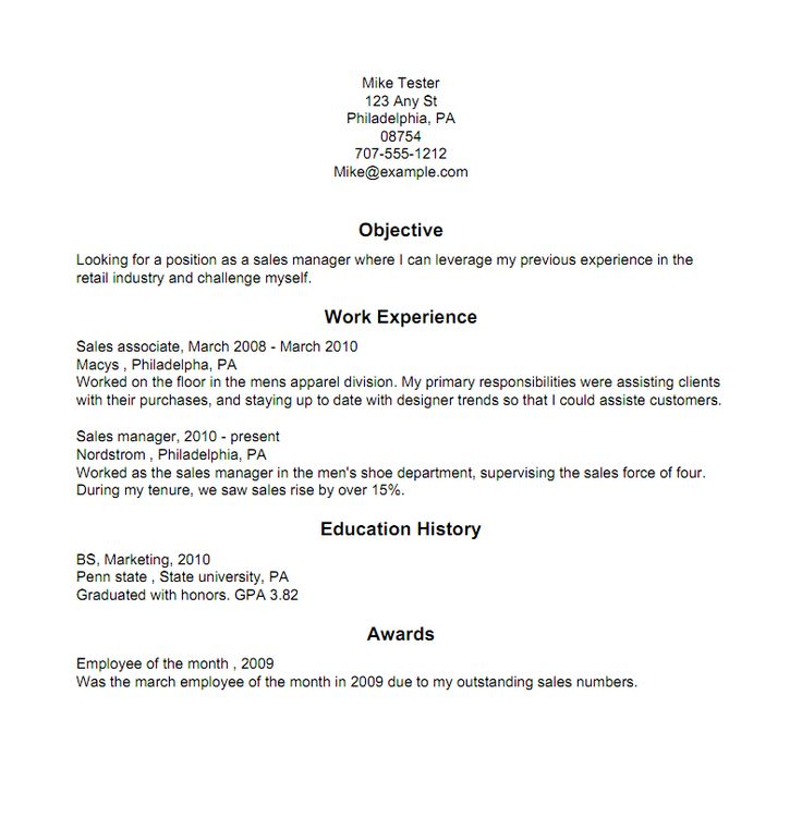 modern resume sample writing tips examples resumes