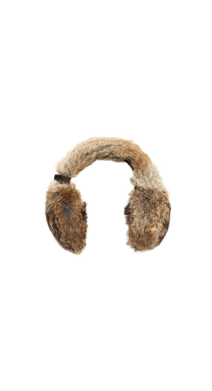 Rabbit fur earmuffs - Rudsak Store