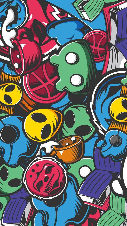 Cool Graffiti Wallpaper for iPhone в 2019 г. Обои