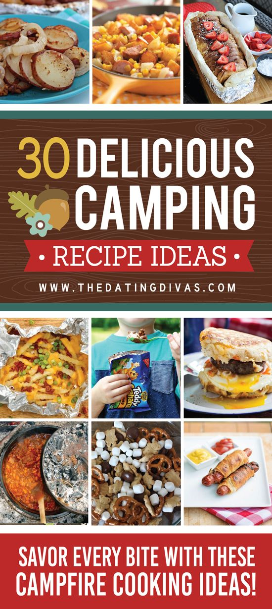 Camping Recipes to Drool Over