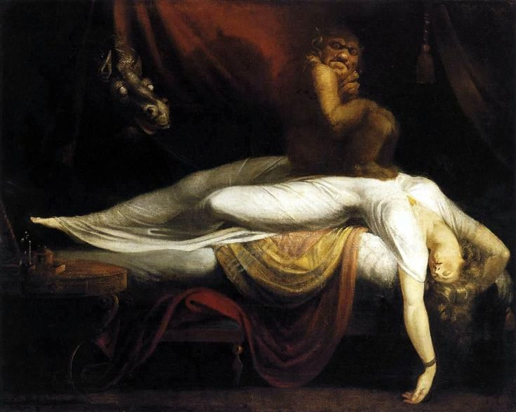 "Henry Fuseli (Swiss 1741–1825) [Romanticism] ""The Nightmare"" 1781. Fuseli was a freak. I like freaks."