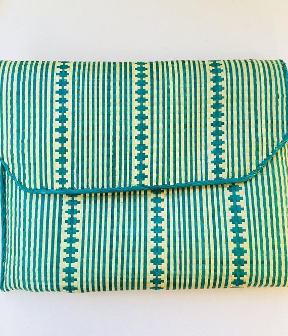 Straw clutch clutch bag handbag market bag straw bag boho