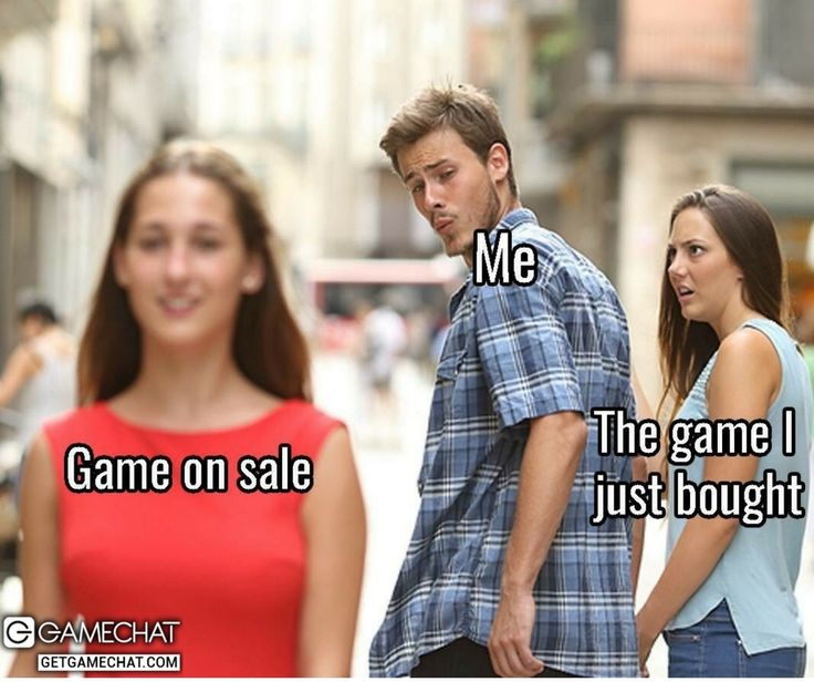 This is Me When I See A Game on Sale #Xboxlive #PSN #Steam #Gamestop