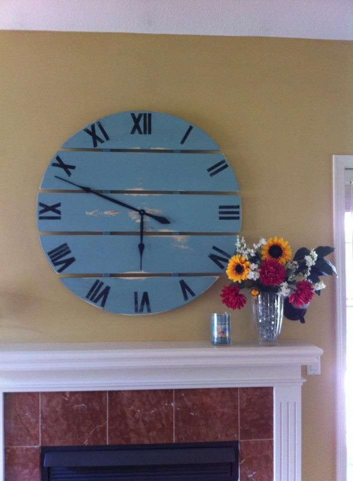 Ana White | Build a Large Wall Clock | Free and Easy DIY Project and Furniture Plans