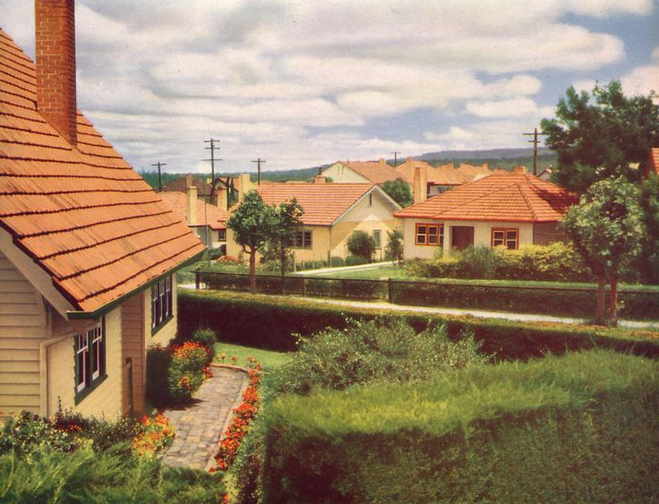 Yallourn houses