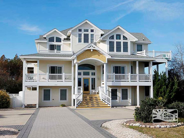 54 Best Outer Banks Luxury Vacation Rental Homes Images On