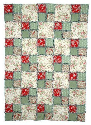 Make a Four-Patch Rag Quilt with This Easy Pattern: Use my pattern to learn how to make an easy rag quilt.