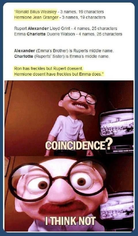 Harry Potter & The Incredibles. Someone thought too hard about this one...