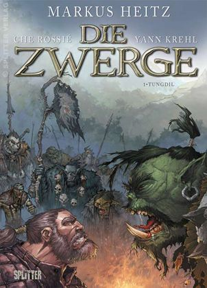 Cover for ''Die Zwerge'' (provisional) by che-rigas