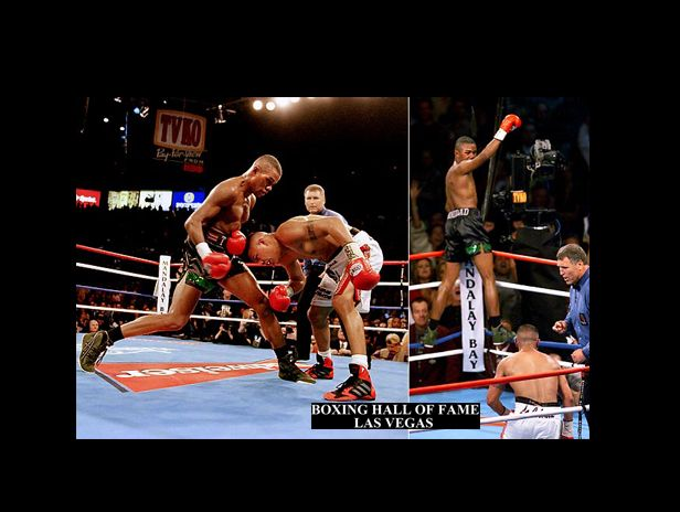 Felix Trinidad KOs Fernando Vargas This Day December 2, 2000 – Super Welterweight Crown -- #boxing #boxinghalloffame #boxinghalloffamelasvegas