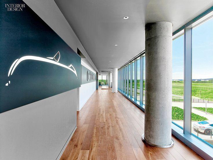 Sculpture In Motion Porsche Experience Center By HOK Workplace DesignCorporate InteriorsInterior
