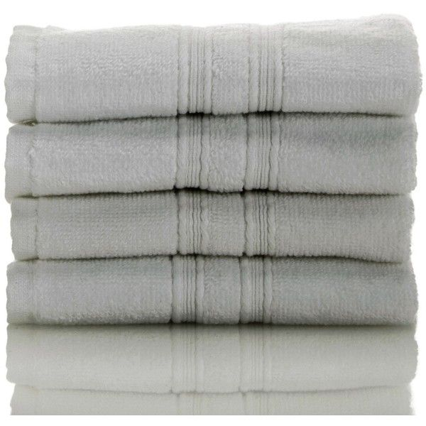 Nordstrom Rack Hydrocotton Wash Towels - Set of 4 (125 GTQ) ❤ liked on Polyvore featuring home, bed & bath, bath, bath towels, grey oil, grey bath towels, grey towel set, nordstrom rack and gray bath towels