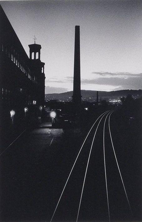 MICHAEL KENNA Railway Lines, Saltaire, Yorkshire, England, 1983