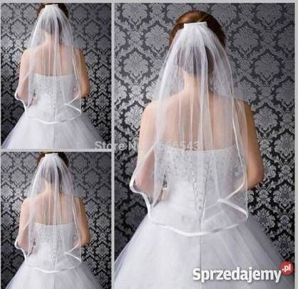 Znalezione obrazy dla zapytania welony ślubne