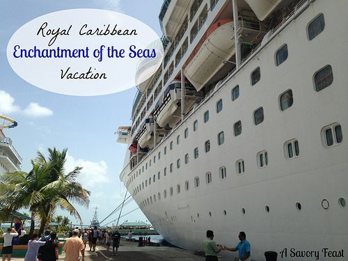 Royal Caribbean Enchantment of the Seas Vacation. Sail to Nassau and Cococay while relaxing on this amazing ship! #cruise #travel