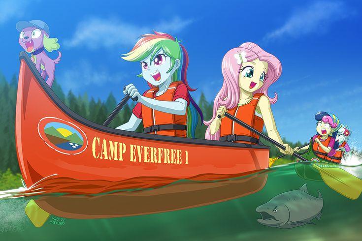 #1230374 - artist:uotapo, camp everfree, equestria girls, fluttershy, legend of everfree, lyra heartstrings, , rainbow dash, spoiler:legend of everfree, sweetie drops - Derpibooru - My Little Pony: Friendship is Magic Imageboard