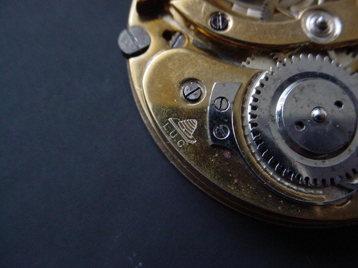 The three letters which tell everything ... Louis-Ulysse Chopard