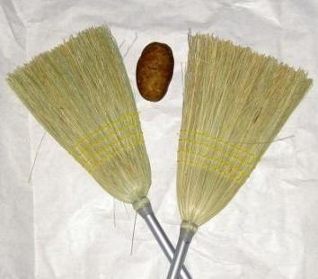 Sweep potato - fun relay game