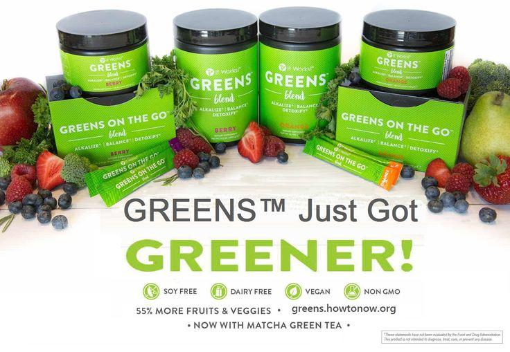 Greens just got greener! :D It works Global shop lyhla.itworksca.com