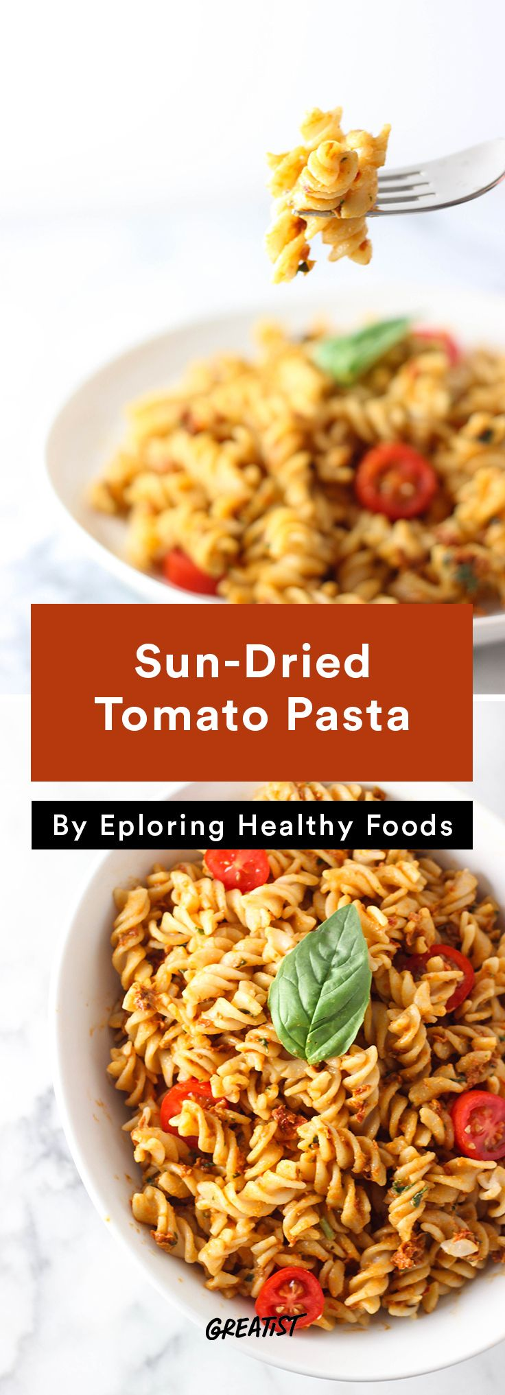 83 best ideas for lunches tired of the same old stuff images on sun dried tomato pasta fast and easy vegan forumfinder Image collections