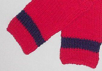 Florida Panthers Hockey Fingerless gloves by AuntMarthasshop
