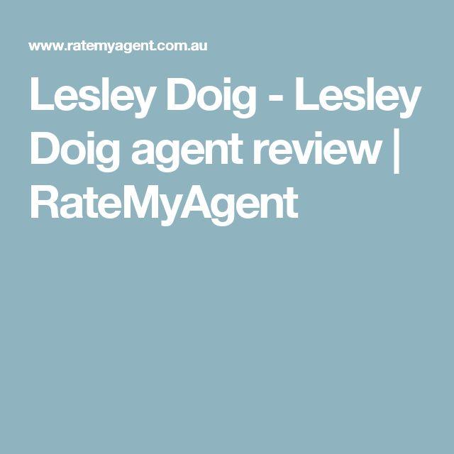 Lesley Doig - Lesley Doig agent review | RateMyAgent