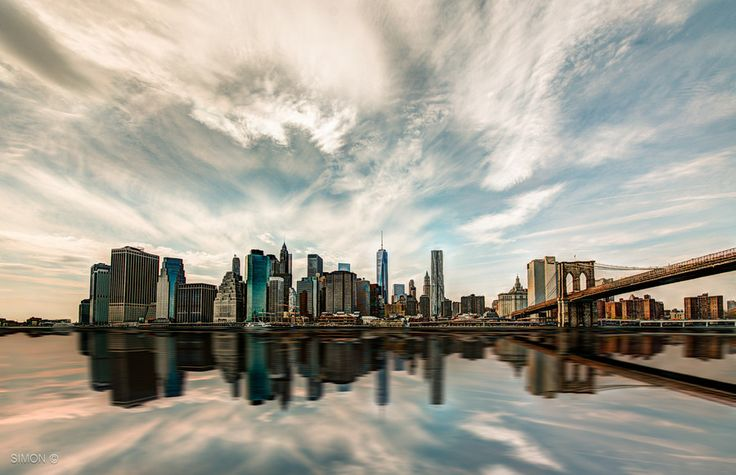 Lower Manhattan Reflection by Simon Regini on 500px