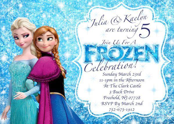 frozen birthday invitations - Best InvitationsBest Invitations