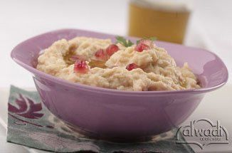 Baba Ghanouj.  Super easy and delicious.  I could have eaten an entire eggplant-worth.