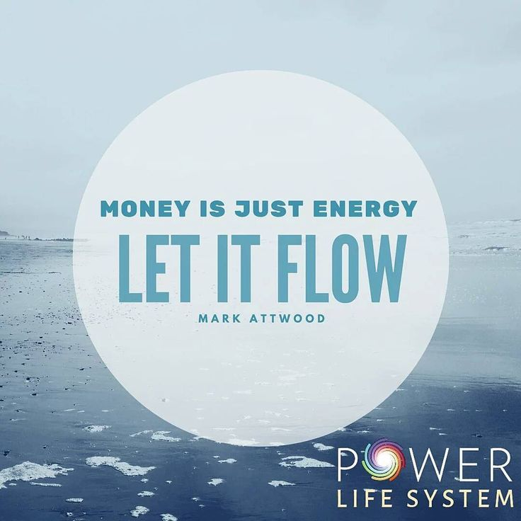 Just Let it flow. #powerlifesystem