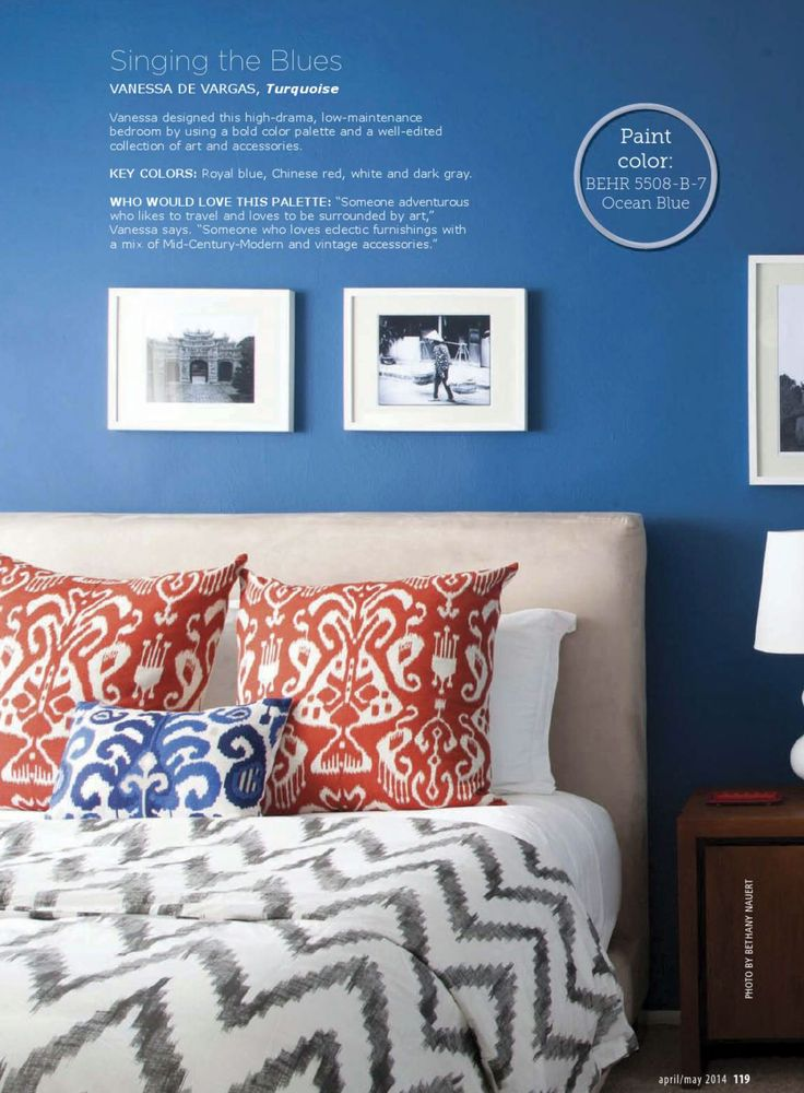 Bedroom Colors Blue And Red 143 best bedroom images on pinterest | behr paint, wall colors and