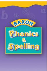 Saxon Phonics 1 Workbook Set First Edition: Saxon Phonics K-2 prepares children to be successful, independent readers and spellers. Supported by research on effective instruction, Saxon's phonics programs are appropriate for all children, including those with learning difficulties. No prior knowledge of phonics is required to teach these success-oriented programs. We have completely scripted the lessons to make teaching easy.