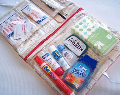 First Aid Kit | Sew Mama Sew | Outstanding sewing, quilting, and needlework tutorials since 2005.