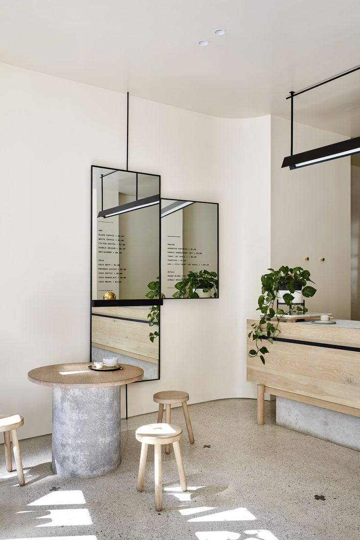 Workshop Brothers Coffee, Melbourne | designed by Hana Hakim of The Stella Collective | est living