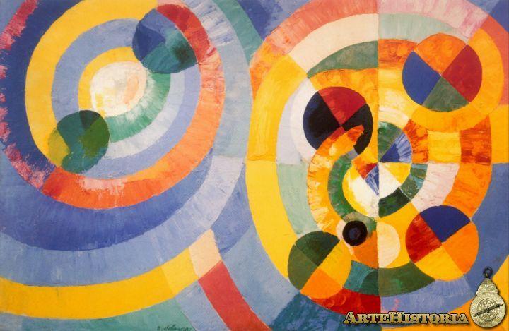 Formas circulares 1930. Robert Delaunay. Orfismo Segunda Etapa