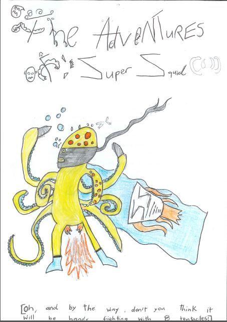 Will G. - The Adventures of Super Squid