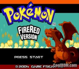Pokemon FireRed ROM Download for Gameboy Advance / GBA - CoolROM.com