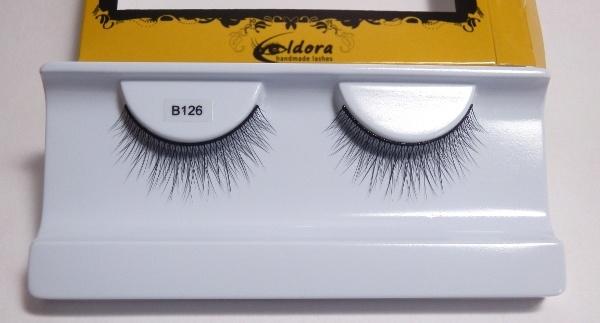 iglia finte morbide incrociate effetto smokey B126 Eldora lashes