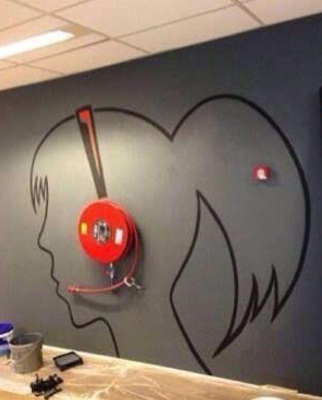 Dit lijkt me leuk om van de brandslang bij Team for Target te maken.