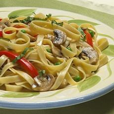 Fettuccine With Spring Vegetables | Fantabulous foods | Pinterest