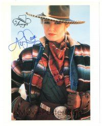 6t429 TANYA TUCKER signed color 8x10 music publicity still '00s c/u of the country music singer!