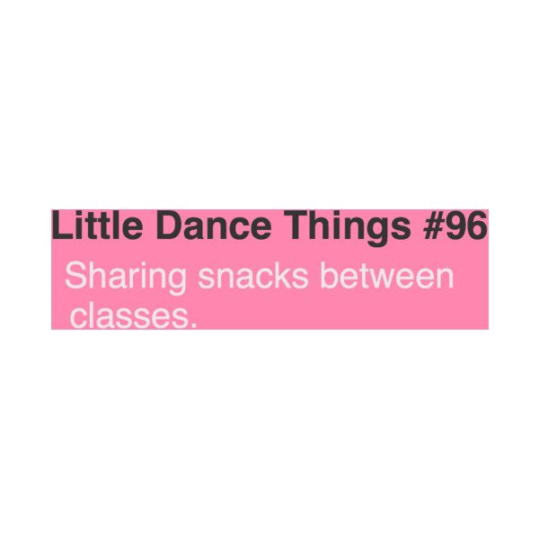 Little Dance Things | clipped by ballerina ❤ liked on Polyvore