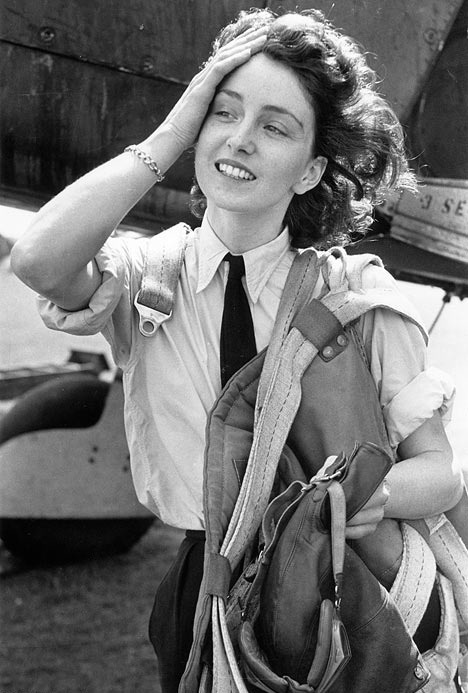 Maureen Dunlop, WW2 Spitfire pilot... @Alex Leichtman Green