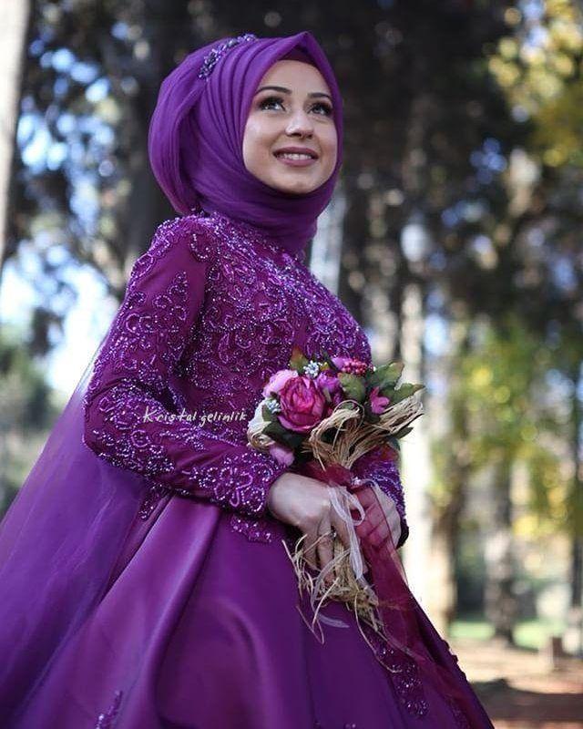 3f79a64f2f6cf Pin by Sha on Muslim Brides in 2019 | Gelinlik, Düğün, Düğün fikirleri