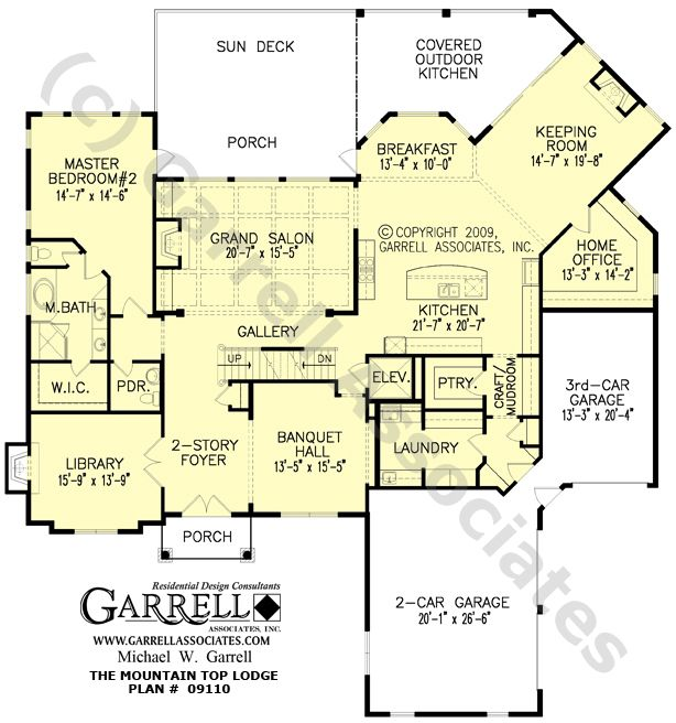 Open floor plans house plans home plans floor plan for Customized house plans online free